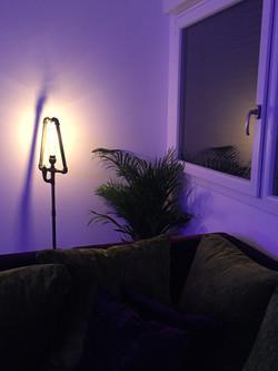 Living Room with mood lighting