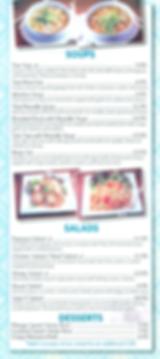 Siam 9 - Soups, Salads, & Desserts