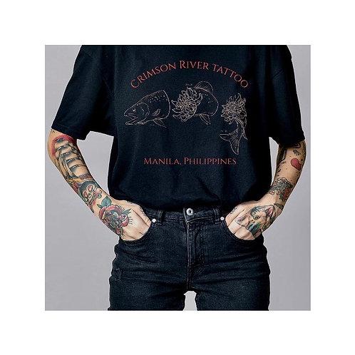 Black studio shirt