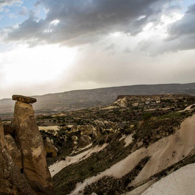 Kapadokya Manzarası