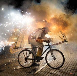 Bisiklet & Patlama