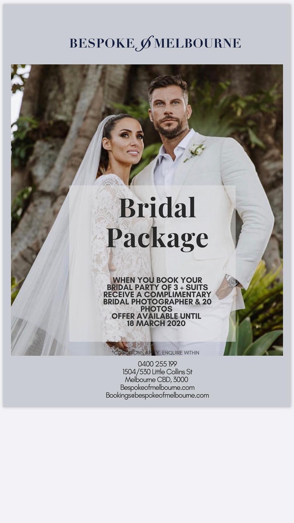 BoM Bridal Offer