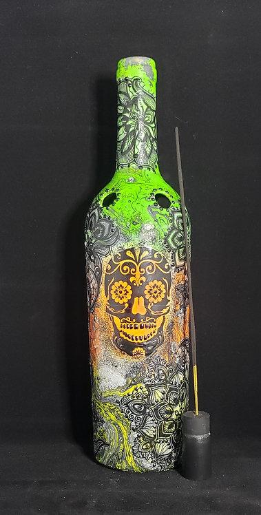 November Sugar Skull Incense Holder