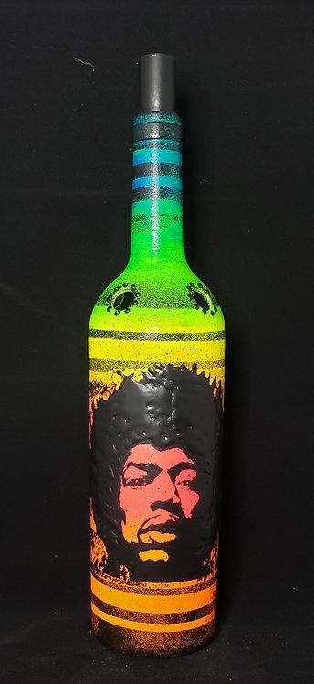 Jimmi Hendrix Florescent Incense Holder