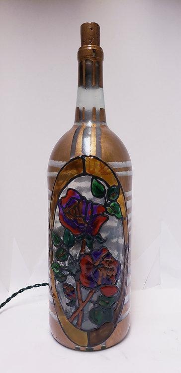 Hybrid Rose Garden Bottle Light