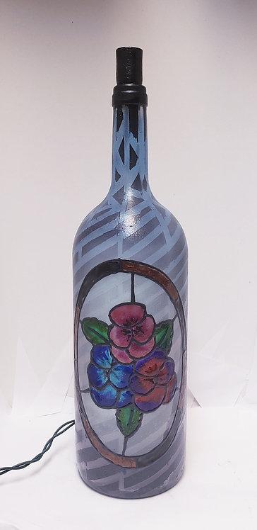 Pretty Bouquet Bottle Light