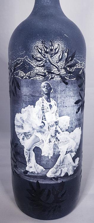 Regal Lady In Black n White 2