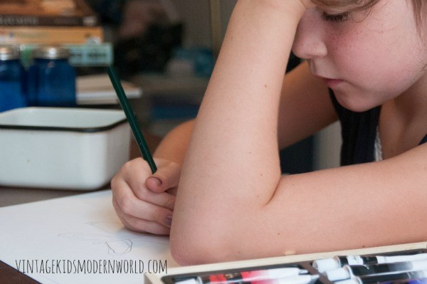 Our 2015-2016 Curriculum CHoices (preschool, 2nd + 5th grades) :: Vintage Kids | Modern World Blog