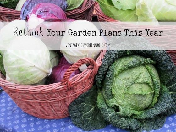 Rethink Your Garden Plans This Year : Vintage Kids | Modern World