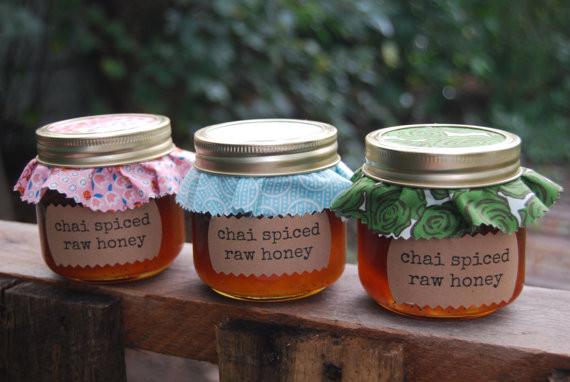 Chai Spiced Raw Honey    https://www.etsy.com/shop/matthew18five