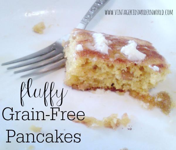 Fluffy Grain Free Pancakes :: Vintage Kids | Modern World