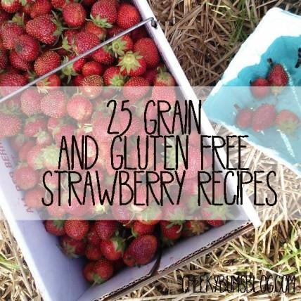 25 Grain and Gluten-Free Strawberry Recipes :: Vintage Kids | Modern World
