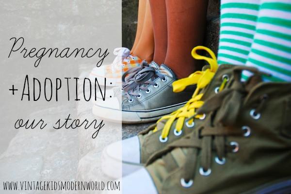 Pregnancy + Adoption: Our Story :: Vintage Kids   Modern World
