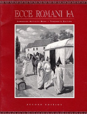 Ecce Romani 1A, Language Activity Book, Teacher's Edition, 2nd Edition