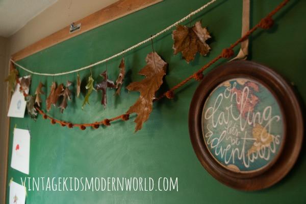 Bee's Wax Dipped Leaves :: Vintage Kids | Modern World Blog