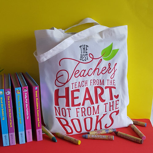 The Best Teachers Tote Bag