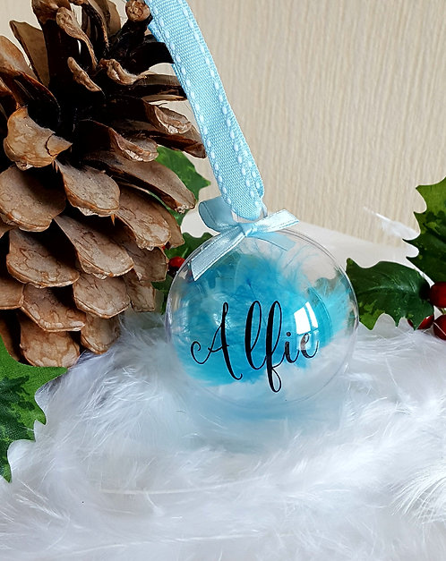 Personalised Named Christmas Baubles