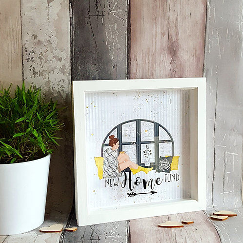 Personalised New Home Money Saving Frame