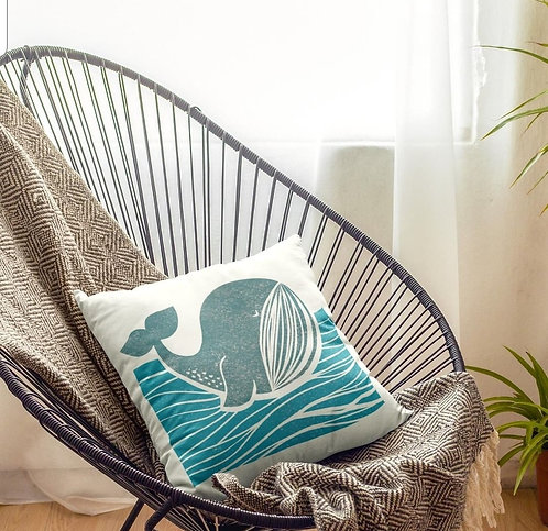 Whale Of A Time Cushion
