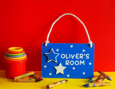 Personalised Child Room Sign