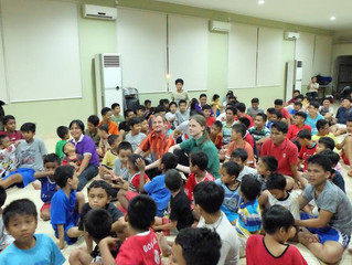 GGI @ Boys Orphanage in Jakarta