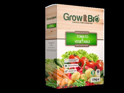 Certified Organic Veg & Tomato Food