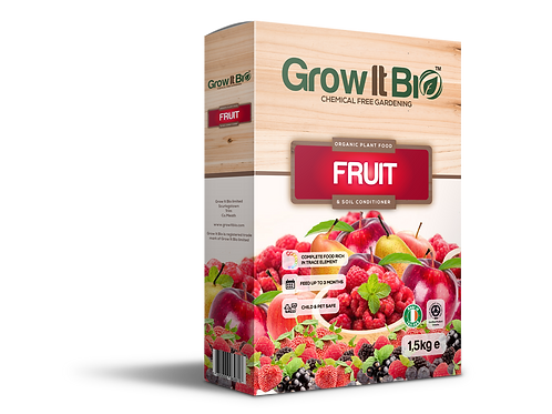 Certified Organic Fruit Plant Food