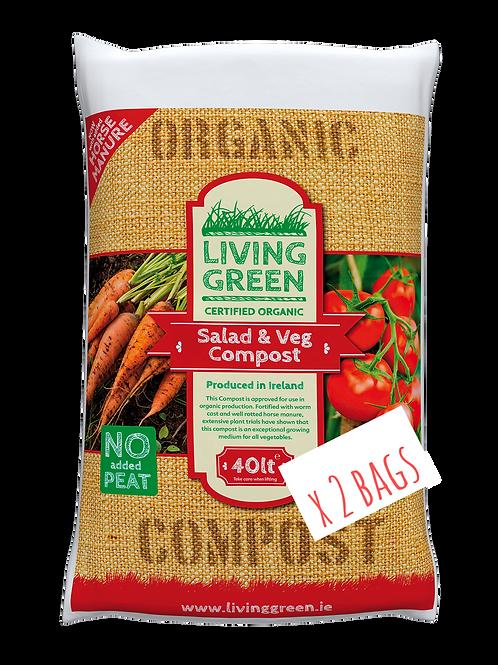 Salad & Veg Irish Certified Organic Compost