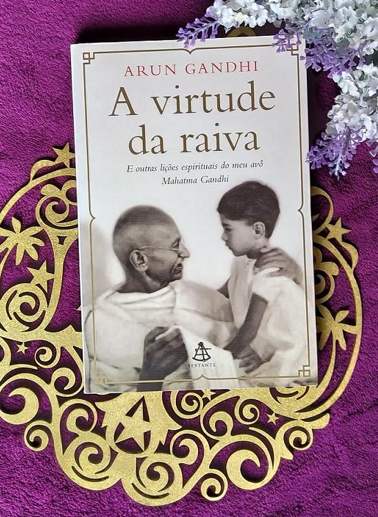 livro A virtude da raiva