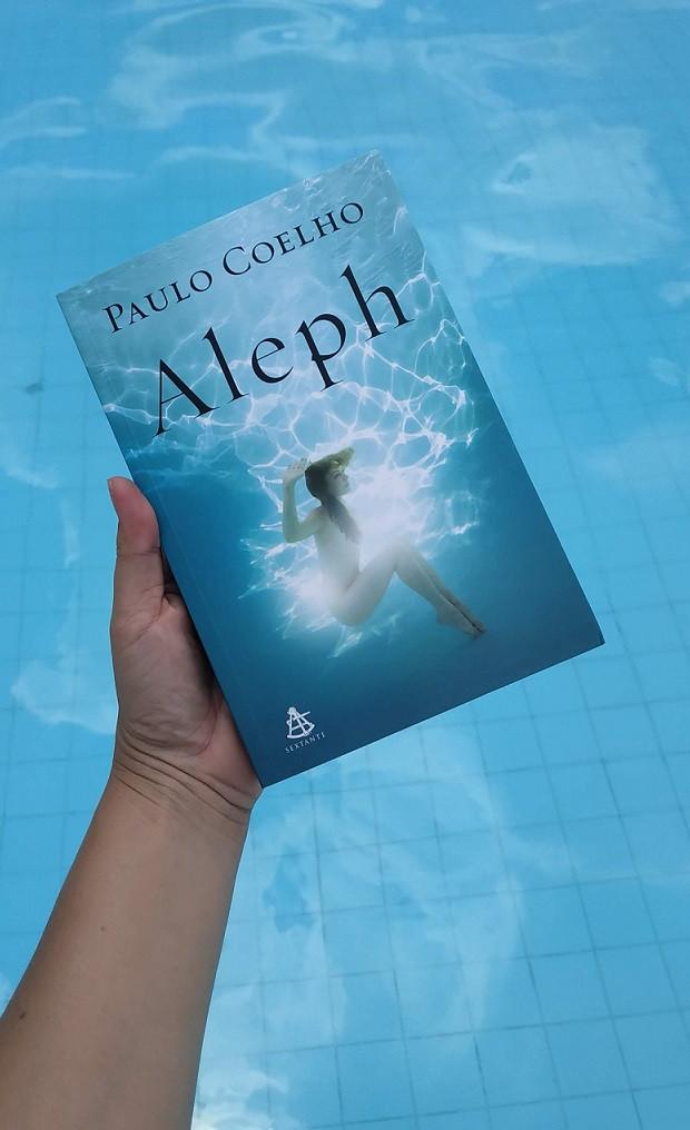 livro Aleph de Paulo Coelho