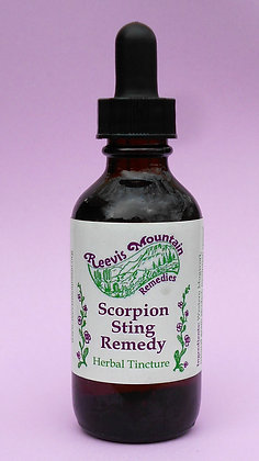 Scorpion Sting Remedy, 2oz.