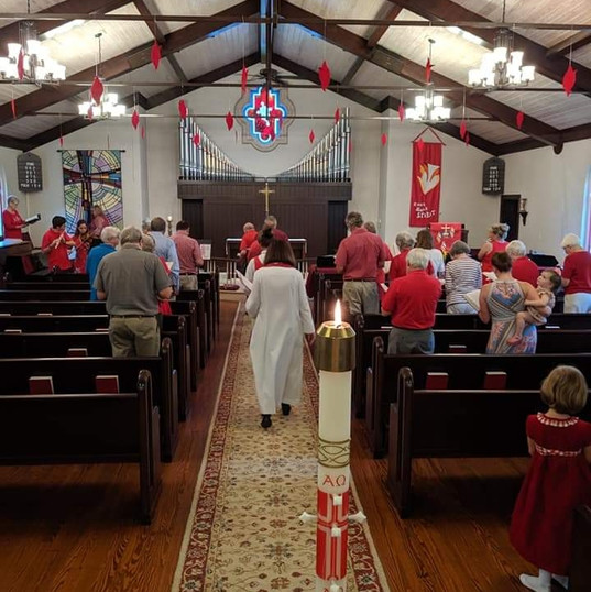 Worship Service for Pentecost