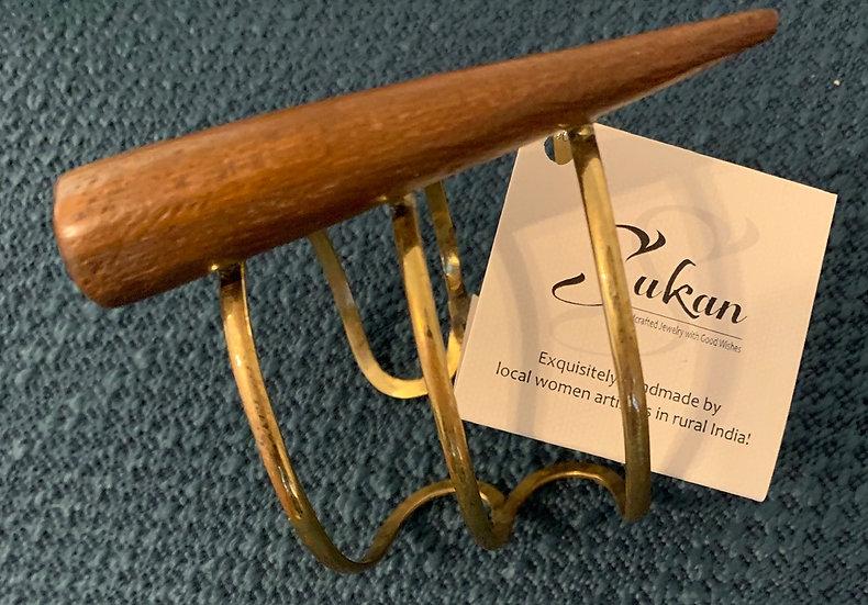 #120 - Breathtaking Horn Bracelet