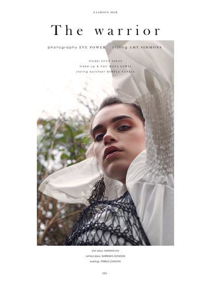 New Work: 'The Warrior' - Out Now