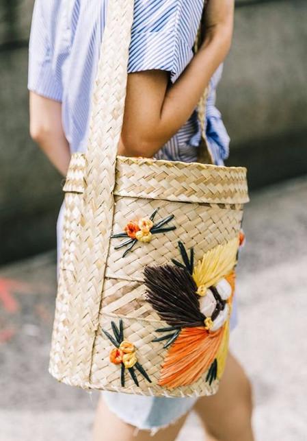 The Basket Bag Summer Trend