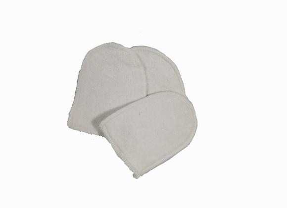 Mini-Gant démaquillant en coton bio