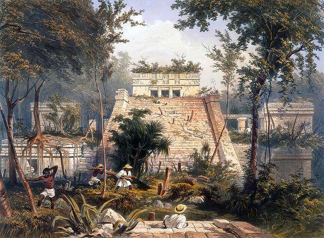 Frederick Catherwood - Tulum Plate 23