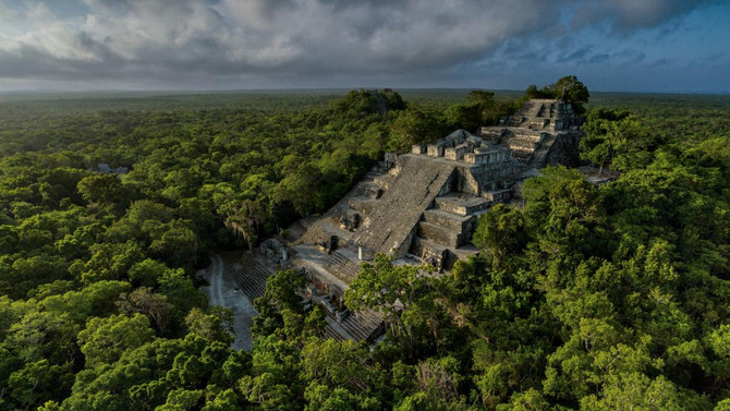 Calakmul Story in National Geographic Magazine for September 2016