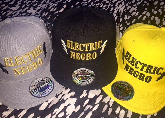 Electric Negro Snapback Caps