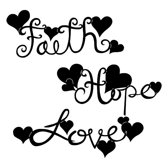 'Faith, Hope, Love' set