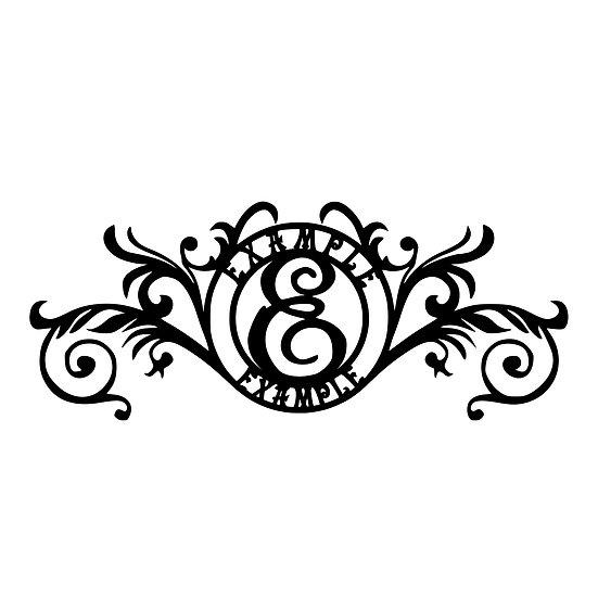 Custom Monogram: Circular 5