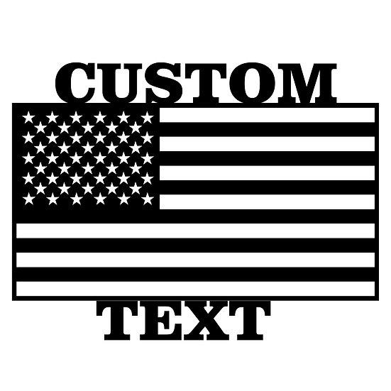 Custom U.S. Flag