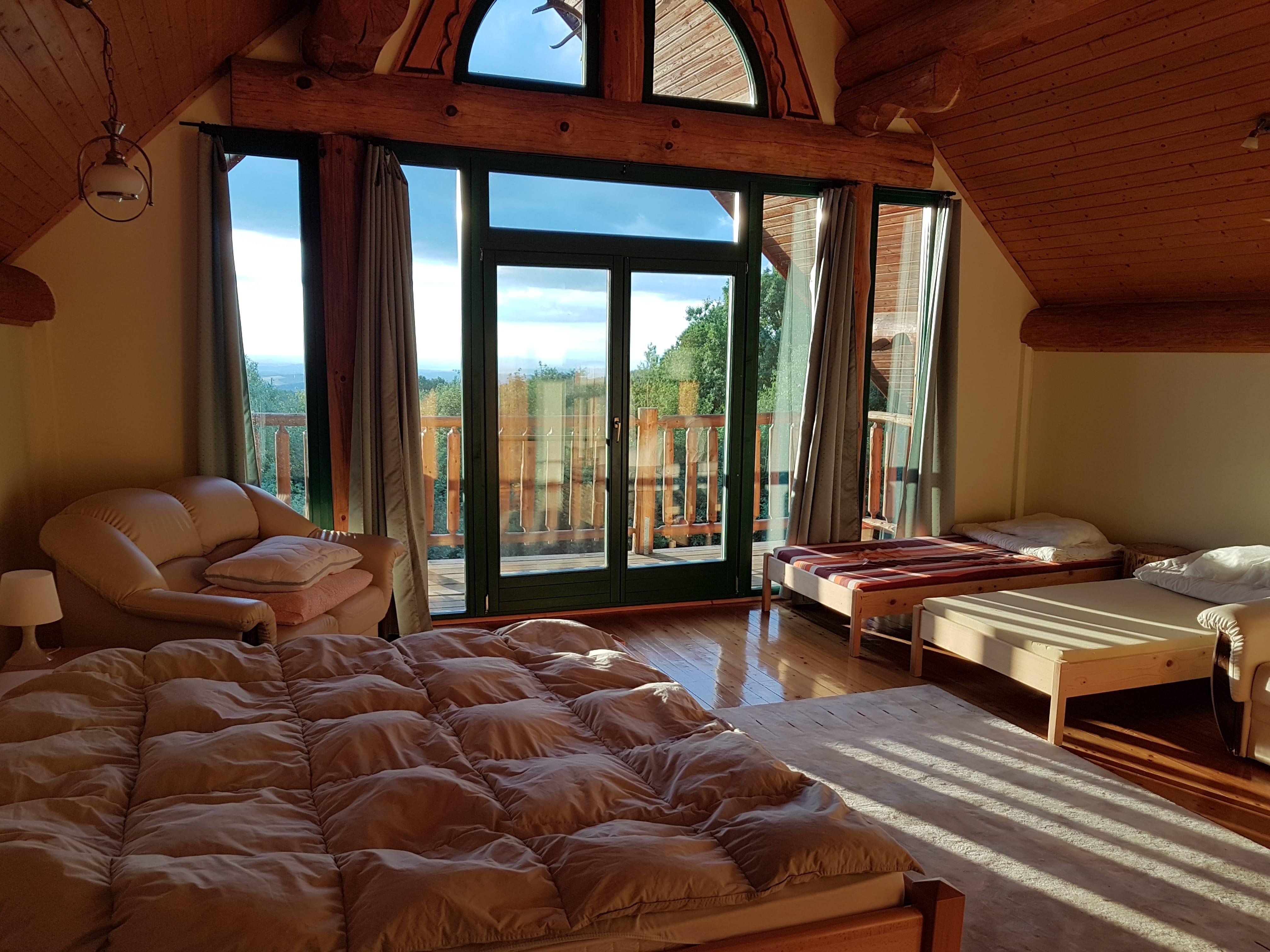Emeleti fő hálószoba