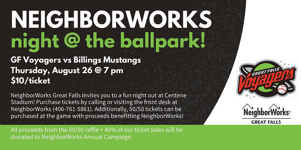 NeighborWorks Night @ the Ballpark!