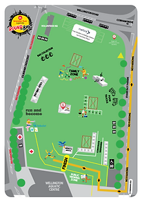 Round the Bays 2021 Kilbirnie Park Map