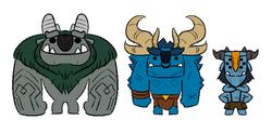 Aarrrgh, Draal and Blinky