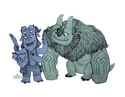 Blinky and Arrrgh