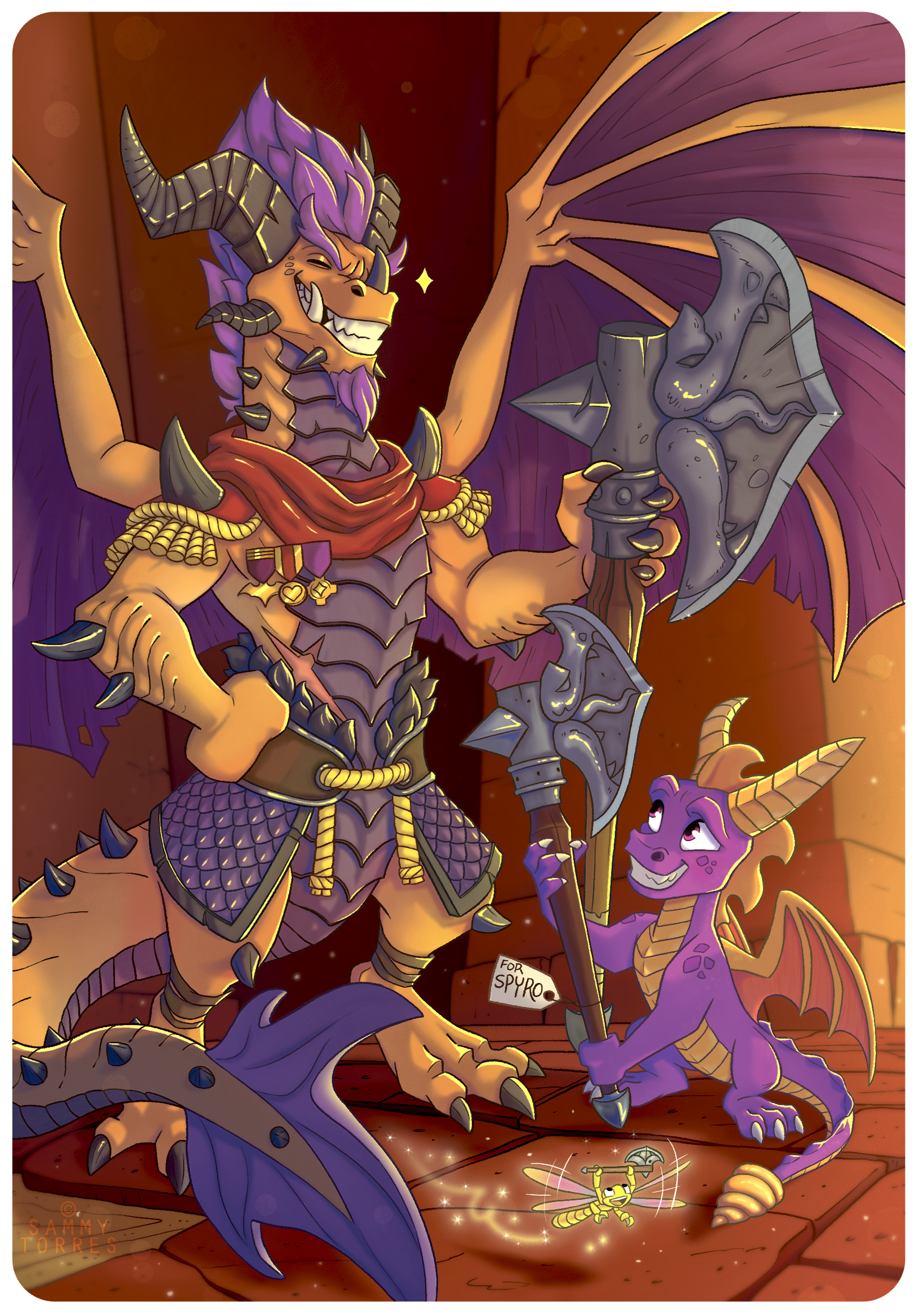 Spyro and Titan