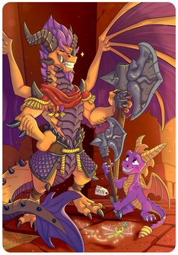 Spyro and Titan