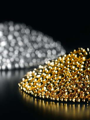 Gold, precious and enchanting, the eternal symbol for love and passion, compassion and wisdom.